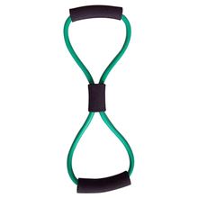 Buy Resistance Bands Tube Workout Exercise Yoga 8 Type Green for $1.30 in AliExpress store