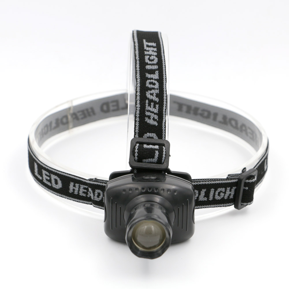 Super Bright Mini LED Zoomable Headlamp 3 Modes Energy Saving Outdoor Sports Camping Fishing Head Lamp Flashlights AAA 2 Types