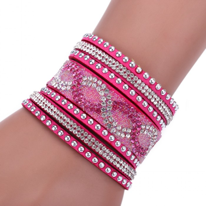 2016 Fashion Multilayer Leather Bracelets Charm women bracelets & bangles pulseiras - NO1 Jewelry mall store
