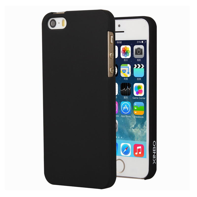 Ultra Thin Case For iPhone 5 5s SE Xinbo 0.8 mm Slim Smooth Surface Plastic Hard Back Cover For iPhone 5 5s SE Phone Accessory(China (Mainland))