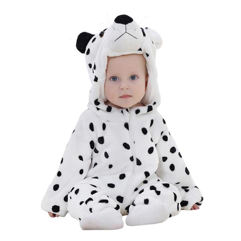 Autumn Winter Baby Clothes Flannel Baby Boy Clothes Cartoon Animal Jumpsuit Baby Girl Rompers(China (Mainland))