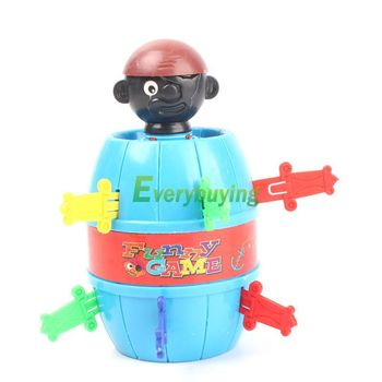 Novelty Items Kids Children Funny Lucky Stab Pop Up Toy Gadget Pirate Barrel Game Toys #27396