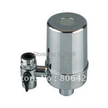 Кран очистители воды с серебром балансовой активированный уголь в сочетании фильтр , чтобы wippe от химических веществ и улучшить вкус