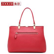 ZOOLER bags handbags women famous brands 2015 new high quality fashion genuine leather shoulder bag women