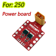 XT60 PDB Power Distribution Board with 5V/ 12V Output for Martian QAV Drone Quadcopter 250(China (Mainland))