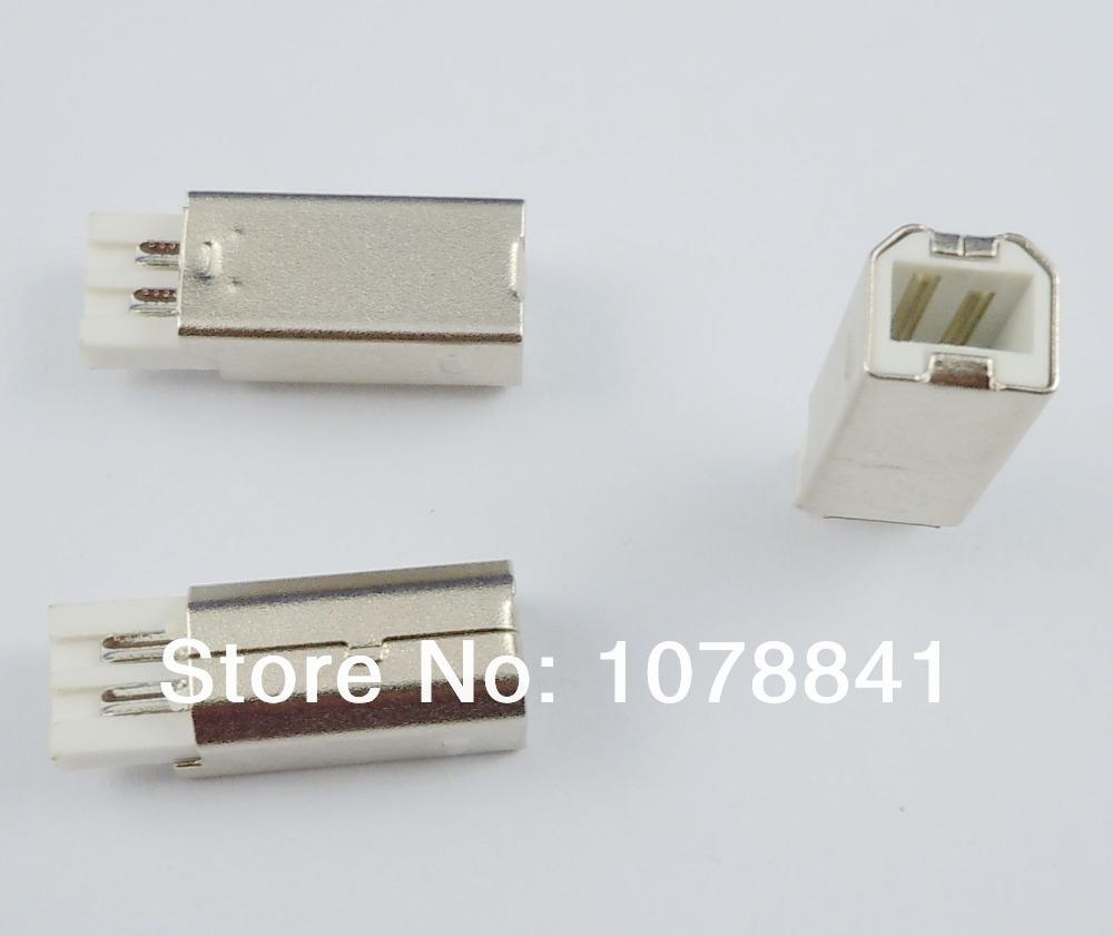 20 Pcs Per Lot USB Type B Male Plug Connector Socket For DIY<br><br>Aliexpress
