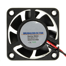 New Arrival High Quality 3D Printer DC 12V 40mm Cooling Fan Electronics  Extruder For RepRap For Prusa For RAMPS