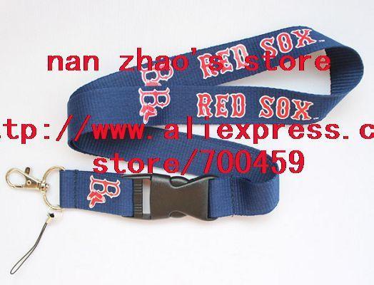New Lot 120pcs  Baseball Lanyard sport Lanyard for MP3/4 cell phone/ key /Neck Strap Lanyard WHOLESALE Free shipping