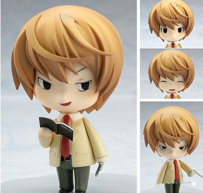 New 10cm japanese anime figures Nendoroid Death Note Yagami Light doll Collectible Model toy for children<br><br>Aliexpress