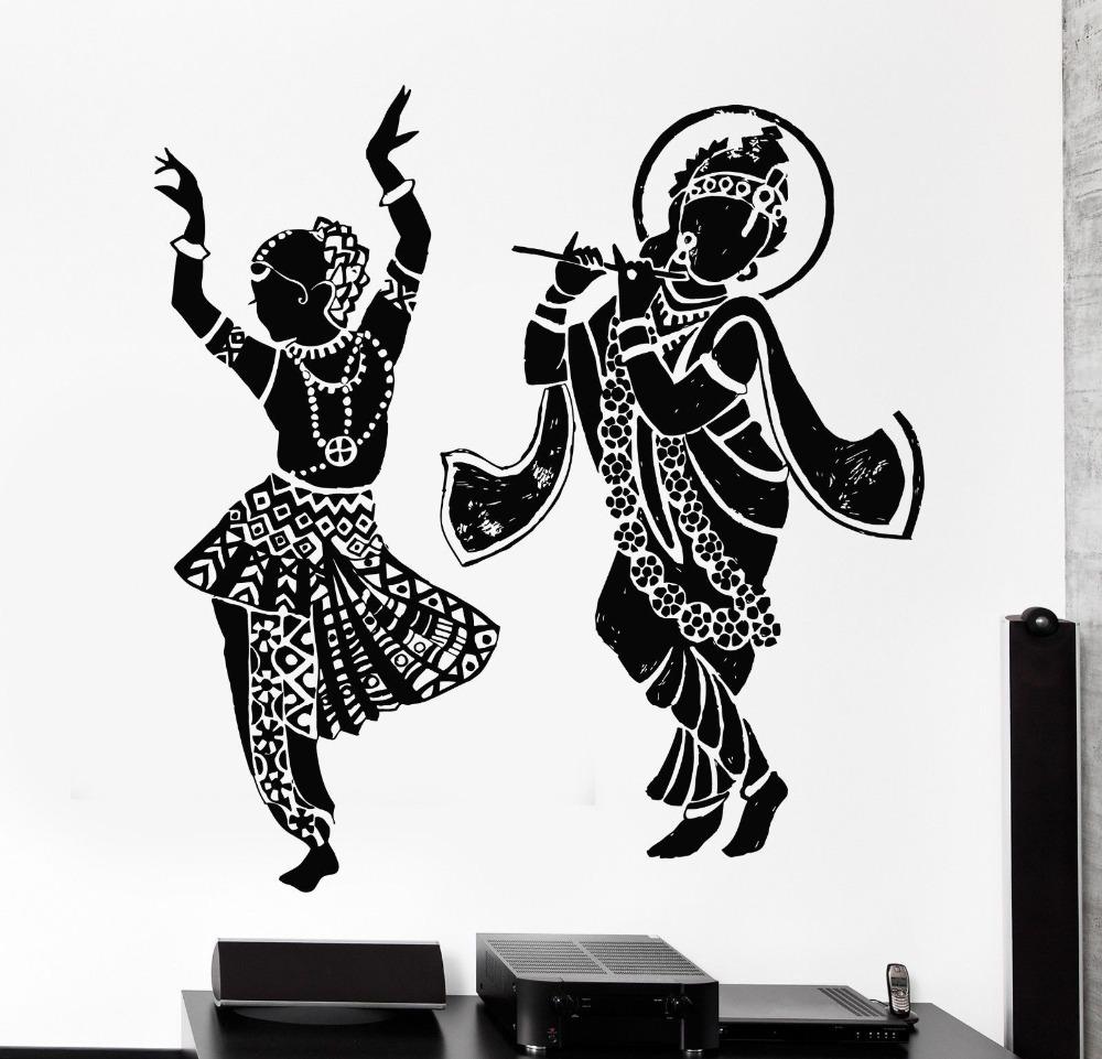Indian Wall Decor wall decals mandala indian pattern yoga oum om sign decal vinyl