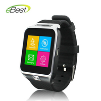 Smart Watch Phone S29 1.54 inch Touch Screen passometer sleep tracker Support Phones Sync/ SIM/ Camera/ SMS/ FM/ TF/ Anti-lost