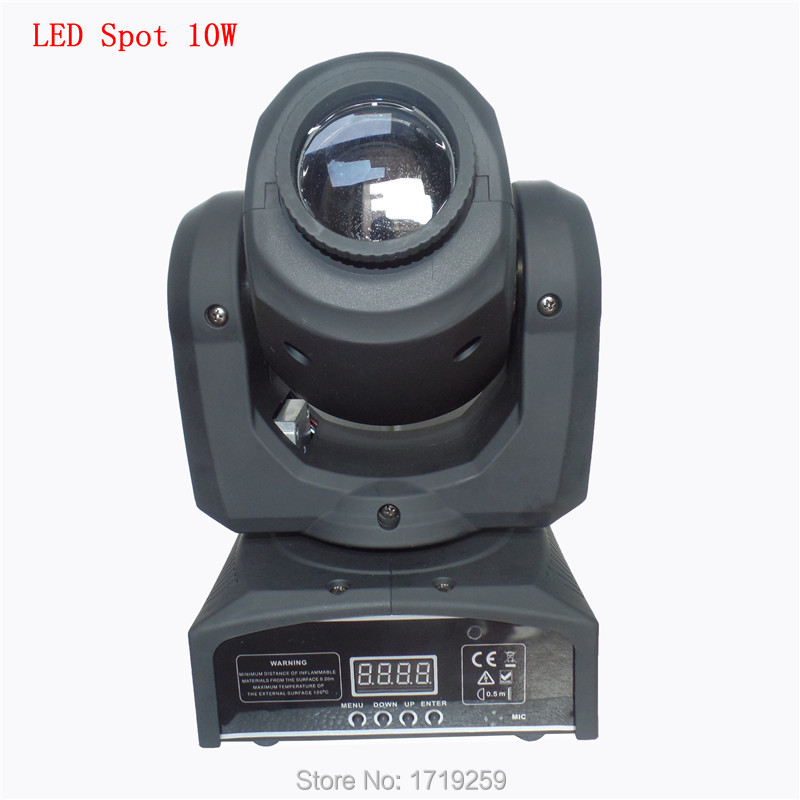DMX Stage Spot Moving 5/13 Channels LED 10W 7 colors Moving Head 7 differnt spots Light Fast Shipping Free Shpping<br><br>Aliexpress