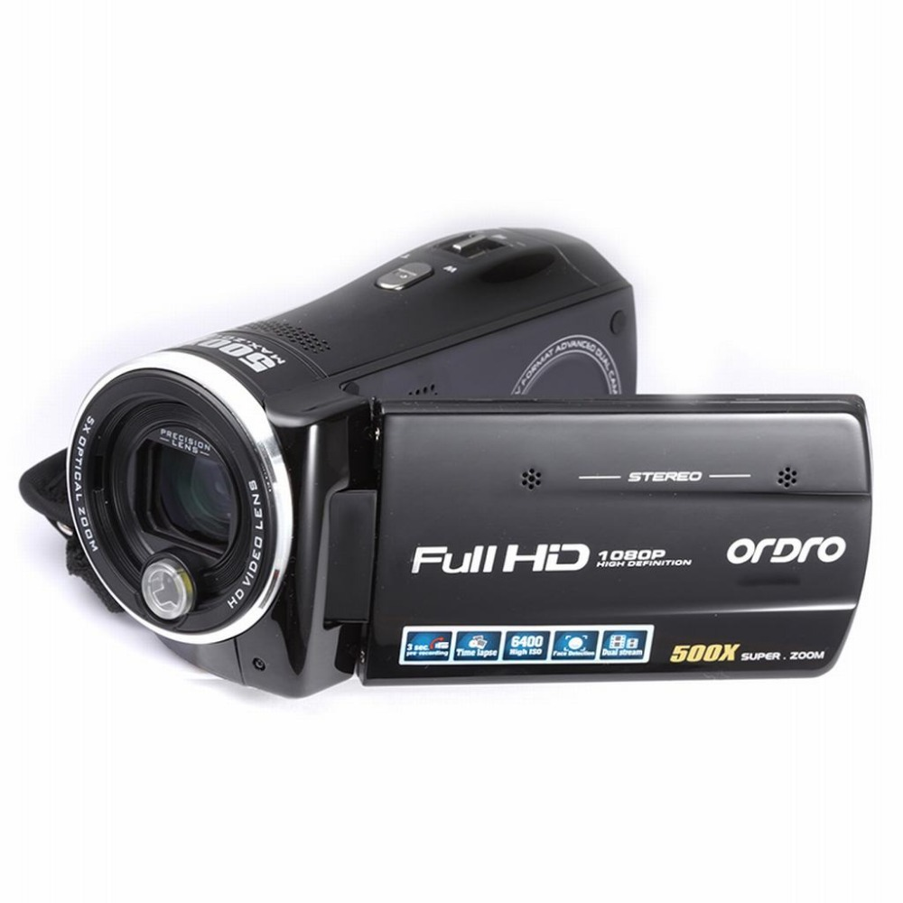 "FULL HD 1920*1080P 30FPS Camera HDV-Z65 DV Digital Video Camera 16Mega pixels 5X optical zoom 100X digital zoom 3.0"" touch LCD(China (Mainland))"