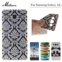 Fashion Painted TPU Silicone Soft sFor Samsung Galaxy A3 Case For Samsung Galaxy A3 A3000 Phone Case Cover TX001