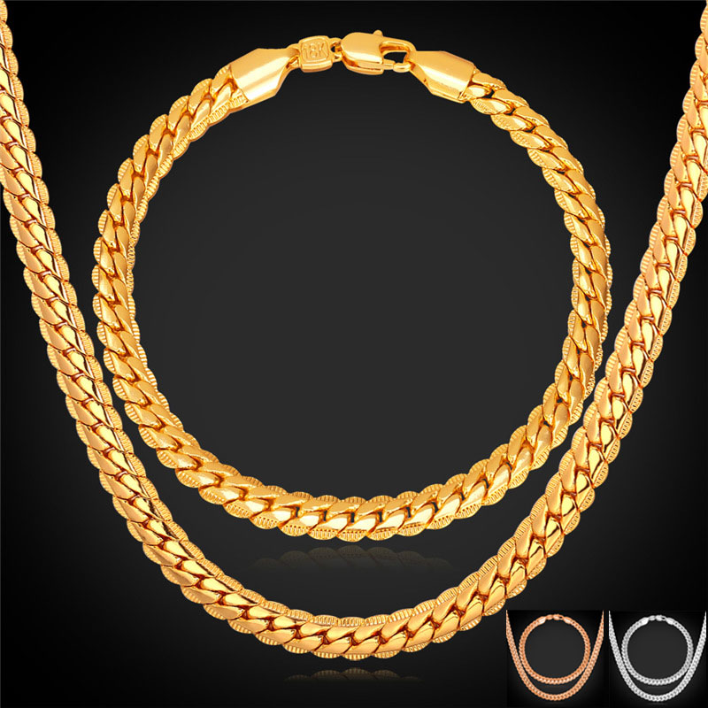 Real gold chains for men