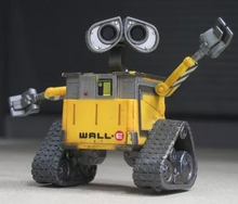 Free Shipping original Design Wall-E robot 6cm action figures Wall-E cute models birthday gift toy for children anime figure
