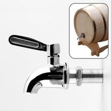 Stainless steel Water Spigot Faucet for Wine Barrel Beverage Dispenser New Free Shipping(China (Mainland))