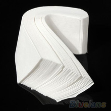 100 pcs Hair Removal Depilatory paper Nonwoven Epilator Wax Strip Paper Roll Waxing 02KA 39N7(China (Mainland))