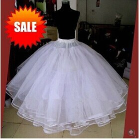 In Stock Puffy Organza Underskirt Ball Gown Crinonline Petticoats For Wedding Dress Enaguas Novia 2015 Made In China(China (Mainland))