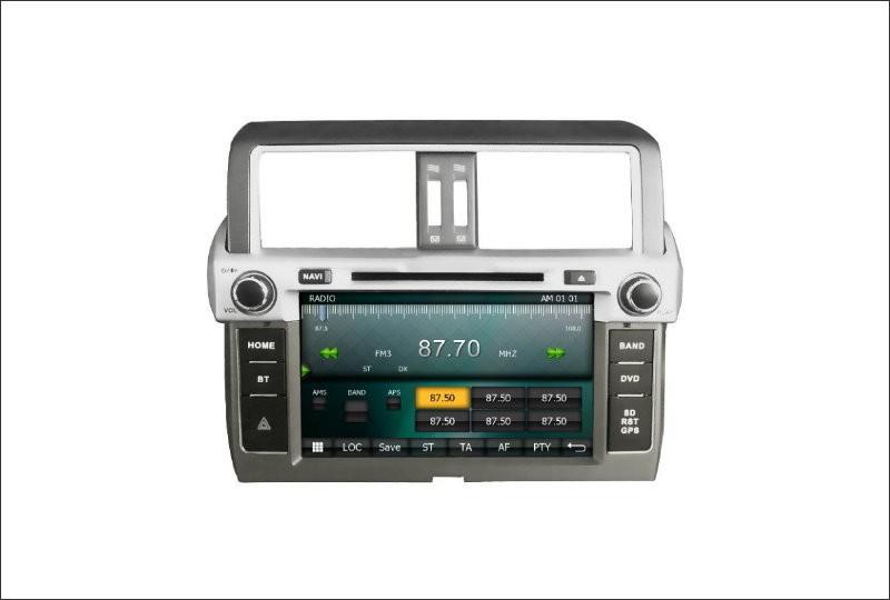 For Toyota Prado 150 / GX 460 2014 2015 2016 Car Radio CD DVD Player Amplifier HD TV Screen GPS Navigation Audio Video System
