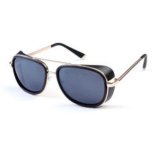 Iron Man 3 Matsuda RAY TONY Sunglasses Men Rossi Coating Sungalss Man Vintage Brand Designer Sun glasses Oculos Masculino Gafas