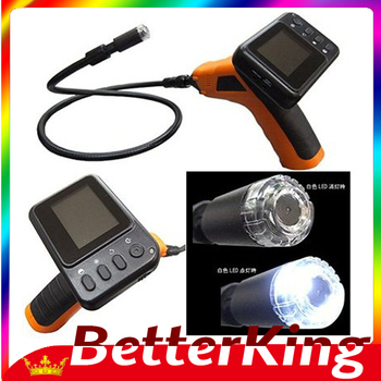 Wireless Seesnake Inspection Camera with Color LCD Monitor - Endoscope Conduit  Free shipping