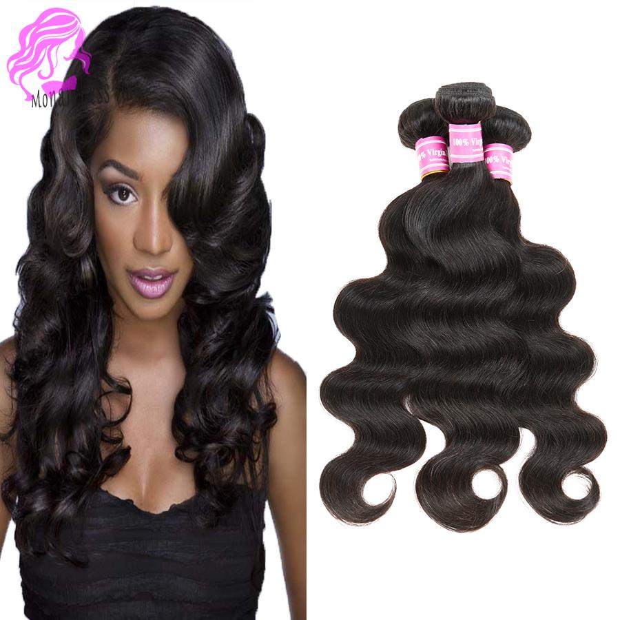 Aliexpress UK Brazilian Virgin Hair Body Wave Human Hair Wet and Wavy Weave Bundles Brazilian Body Wave Fastyle Hair Extensions <br><br>Aliexpress