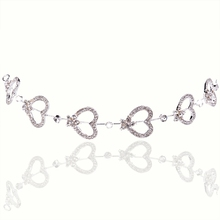 Hot Wholesale Bridal Jewelry Wedding Jewelry Luxury Heart /Flowers /Butterfly Headwear Hair Accessories For Women Wedding Suit