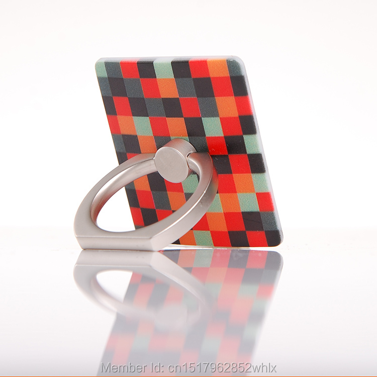 100pcs 360 Degree Rotion White Smart Finger Ring Holder(China (Mainland))