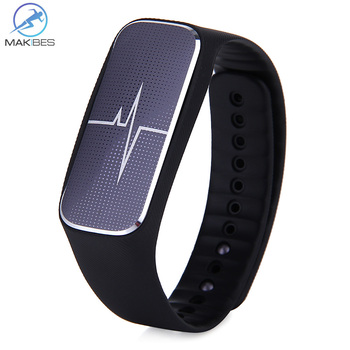 Makibes L18 IP54 Bluetooth Smart Bracelet Blood Pressure Heart Rate Monitor Fatigue State Tracker for Android iOS