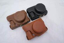 PU Leather Camera Shoulder Bag For Olympus XZ-1 XZ-2 XZ1 XZ2 XZ 1 XZ 2 Case Cover With strap