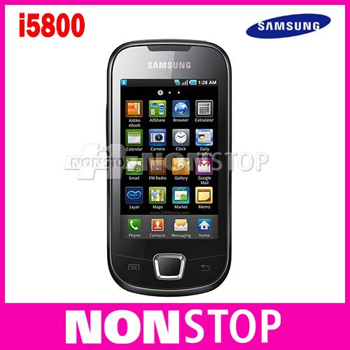 Unlocked Original Samsung i5800 mobile phones with 3G wifi gps bluetooth  Google YouTube Gmail Refurbished