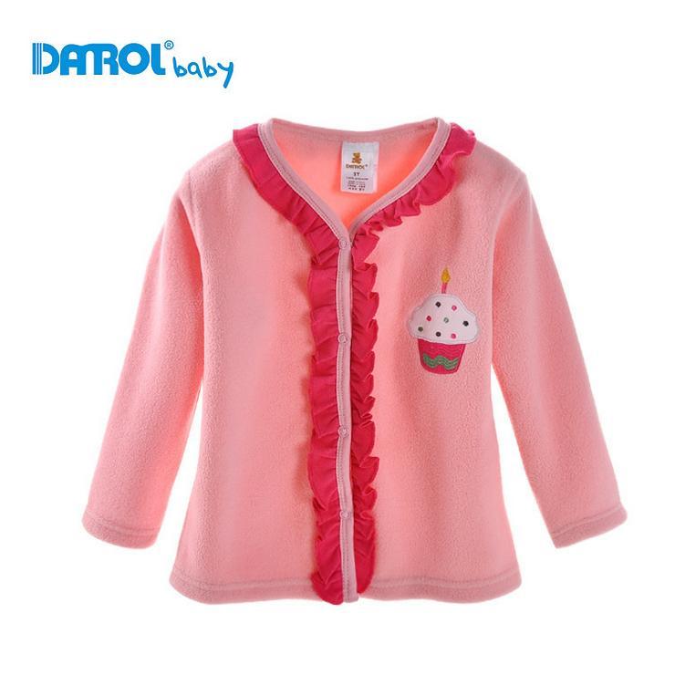 2015 Hot Sale Autumn winter children Fleece jacket Kids Polo Suit Boys Girls Long Sleeve Sport Clothes(China (Mainland))