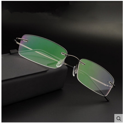 Rimless Eyeglass Frames 2015 : 2015 Silhouette eyes ultra light titanium rack rimless ...