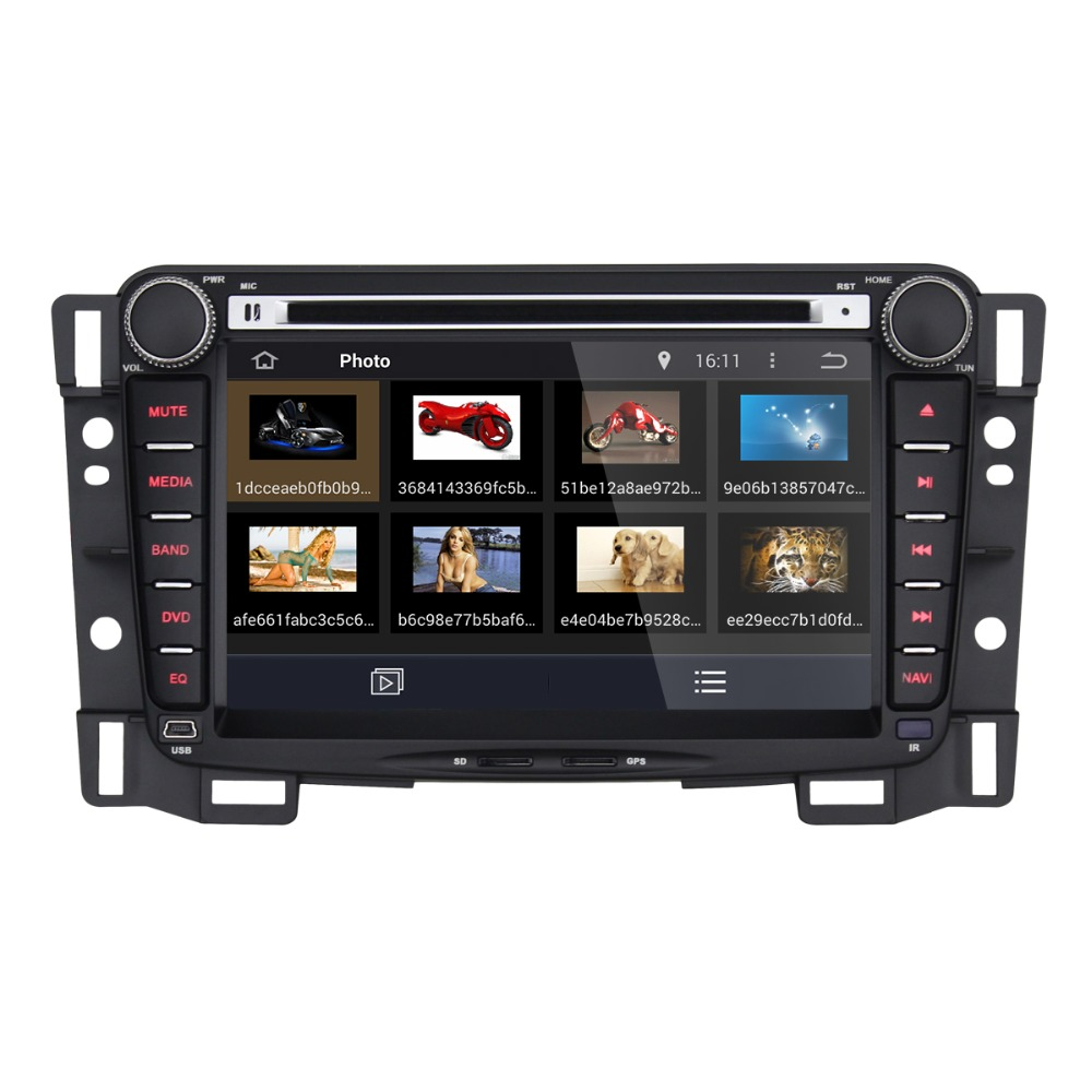 New Double Dins 7 Inch Android 4.4 Car GPS Navigation DVD Player For Chevrolet With Two USB Interfaces Built-in wifi BT<br><br>Aliexpress