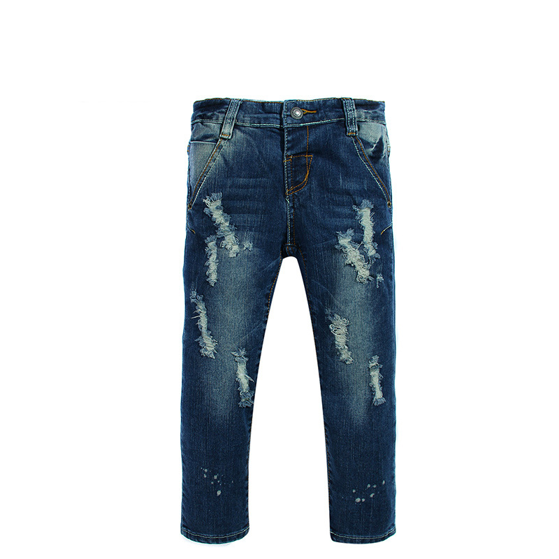2016 wholesale cheap jeans for boys denim boys leggings 2t 3t 4t 5t boys jeans children's casual denim trousers free shipping(China (Mainland))