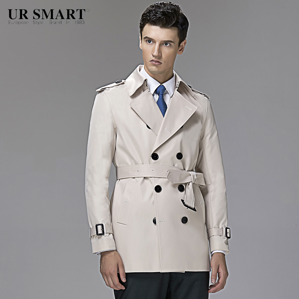 White trench coat. White owes much of its accomplishment towards versatility; matching any type of complexion it has the ability to be paired up with any color to give it a crisp, fresh look and feel.