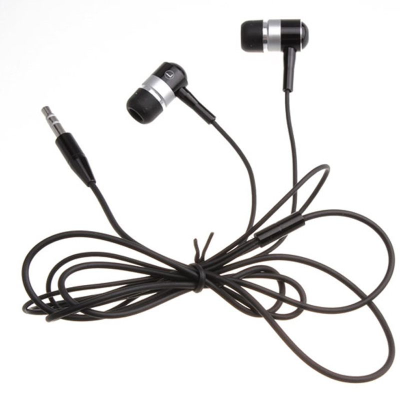 S1M Black In-ear 3.5mm Excellent Stereo Headphone Headset Earbud For MP3 MP4 PSP(China (Mainland))