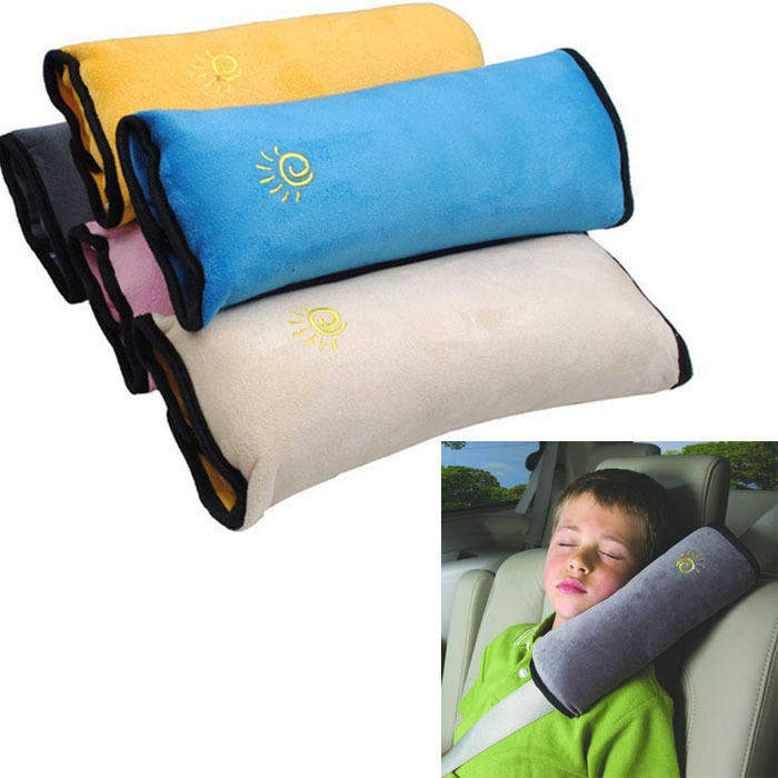 Scolour Baby Children Safety Strap Car Seat Belts Pillow Shoulder Protection(China (Mainland))