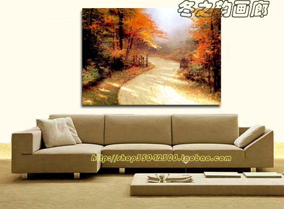 * Pure hand-painted oil painting scenery * * * frameless painting decorative painting *<br>