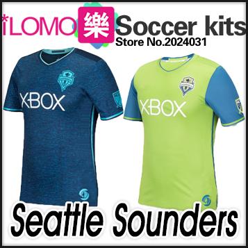 16 17 Seattle Sounders Home Away Soccer jersey 2016 Football shirt  DEMPSEY MARTINS<br><br>Aliexpress