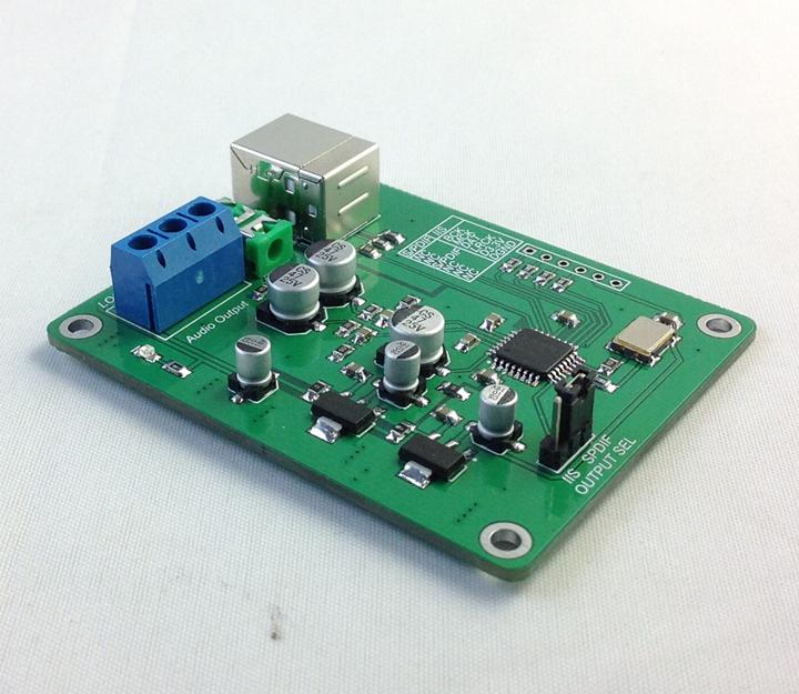 PCM2706 USB Decoding Module USB to I2S DAC Decoder Headphone Amplifier DIY(China (Mainland))
