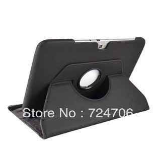 Free shipping 360 Rotation Case Stand for Samsung Galaxy Note 10.1 N8000 N8010 tablet E80