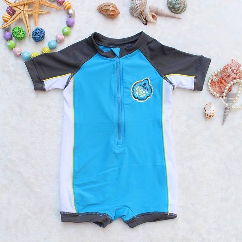 Traje De Baño Ninos Uv:Bebés Niños del traje de Baño Trajes de baño de Protección UV