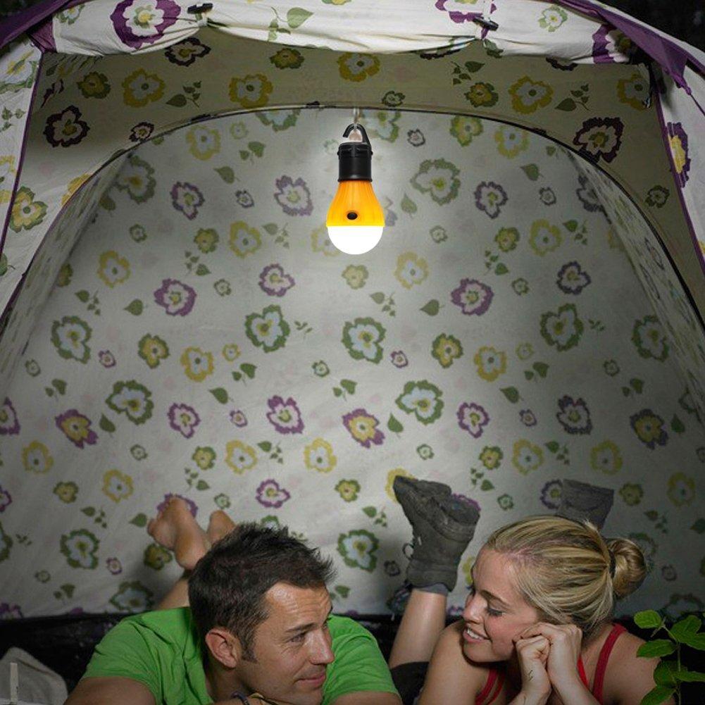 Acil Kamp Çadır Lambası Yumuşak Işık LED Ampul Lamba Taşınabilir Enerji Tasarruflu Lamba Açık Yürüyüş Kamp Fenerler Ücretsiz Kargo