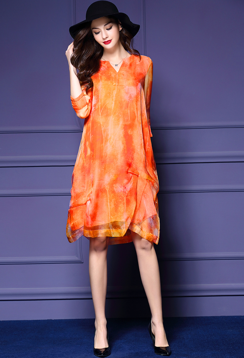 2016 New Designer Soft Nice Slim Dresses For Women Casual