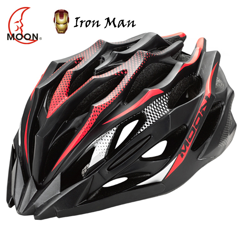 MOON 2015 New Ultralight 230g Carbon Bike Helmet 28 Air Casco Ciclismo Cycling Helmet Integrally molded
