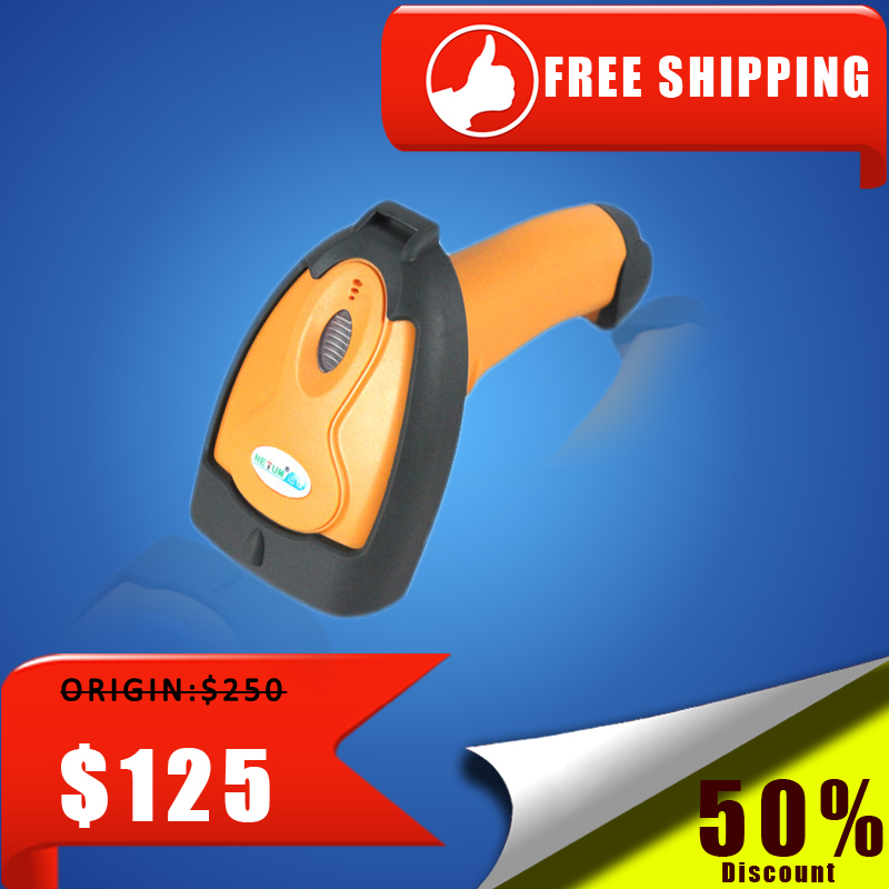 Free Shipping QR code qr code scanner PDF417 code 2D scanner barcode scanner image scanner NT-8099(China (Mainland))