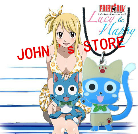 Freeshipping wholesale 20pc a lot Fairy tail Necklace HUSSA88<br><br>Aliexpress