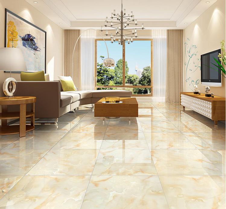 Sitting room floor tiles